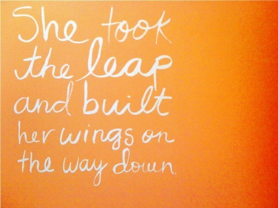 Note To Self: Take The Leap