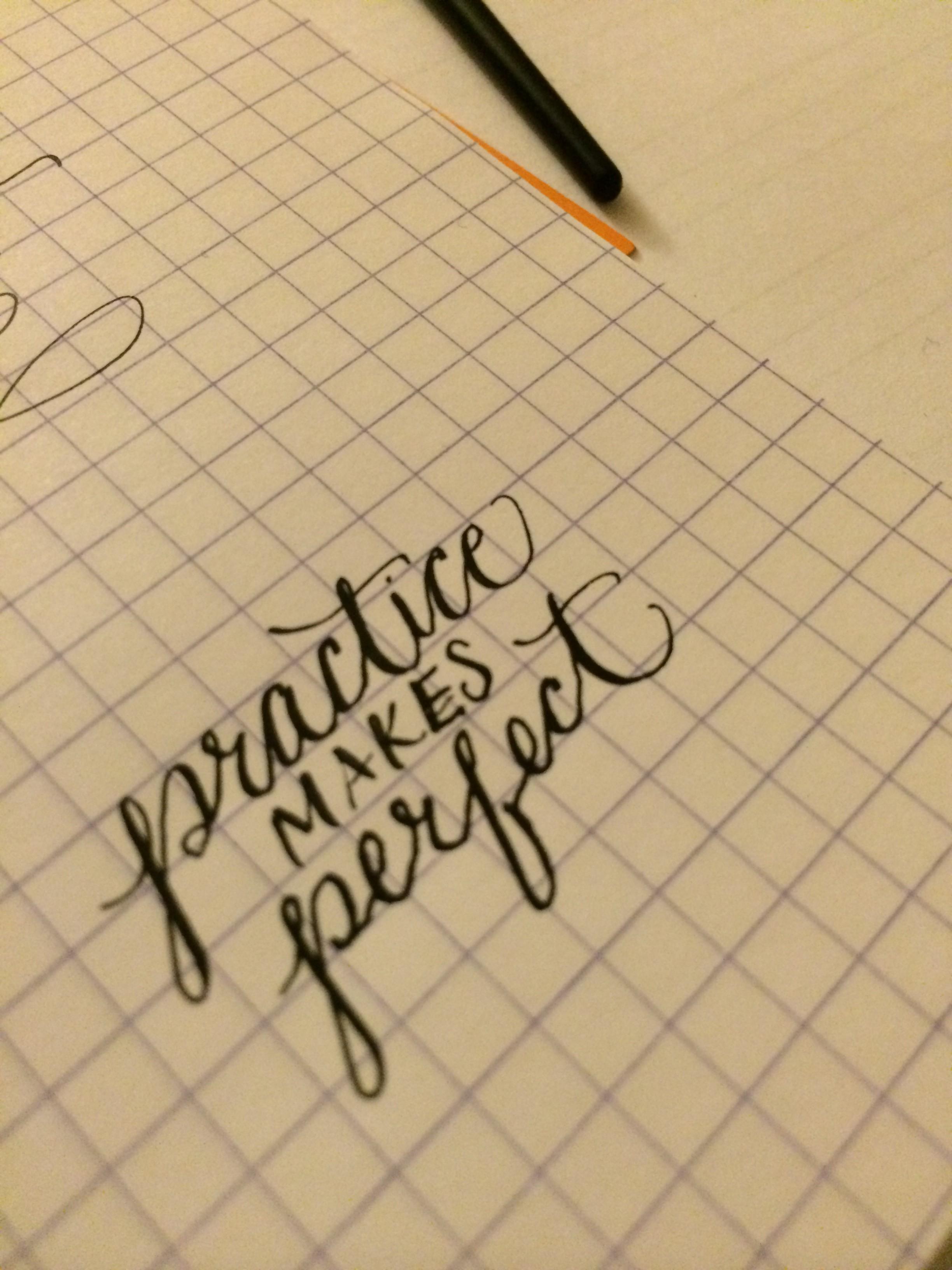 I Still Love Calligraphy
