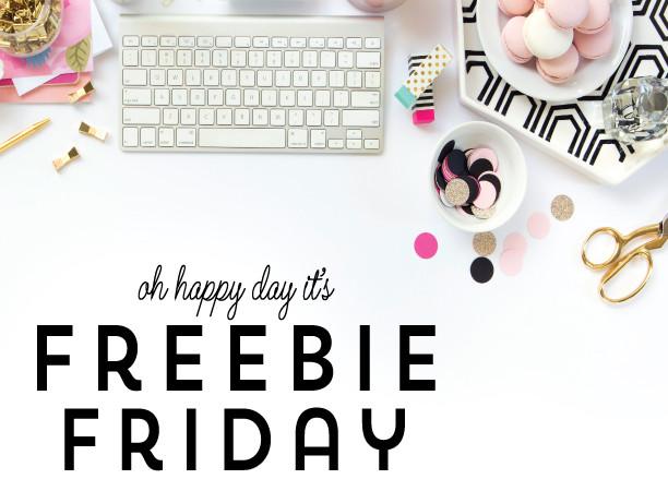 Freebie Friday!
