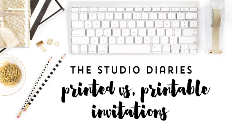 Printed vs. Printable Which One is Best for Your Party