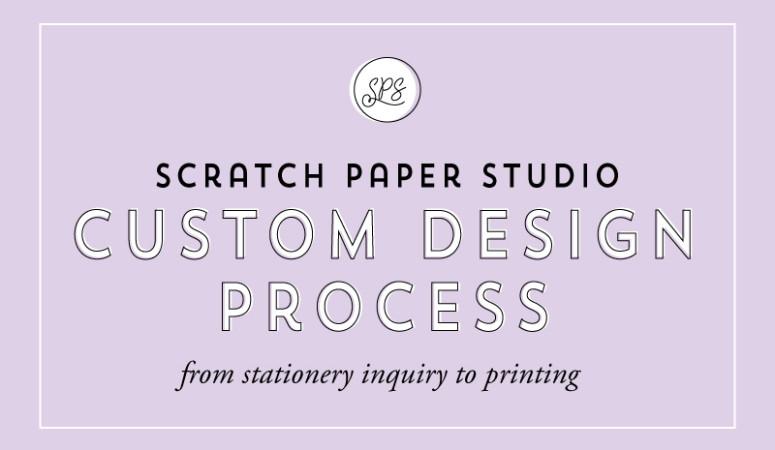 Studio Diaries: The Custom Design Process
