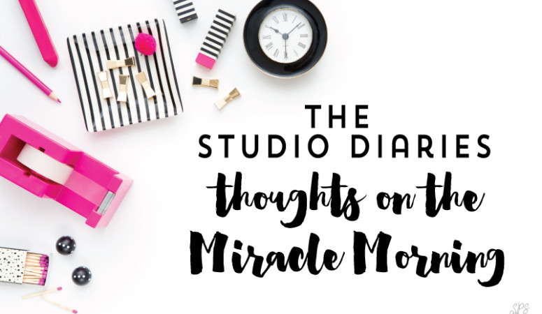 My Thoughts on the Miracle Morning