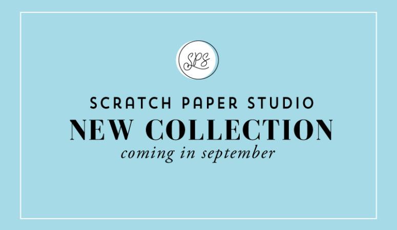 Sneak Peek of What's NEW to the Scratch Paper Studio Shop!