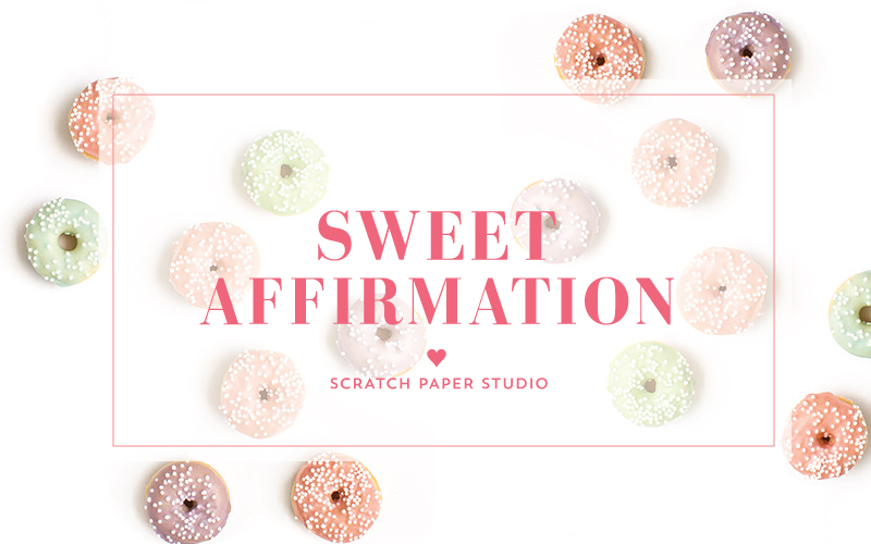 Sweet Affirmation: Be Merry