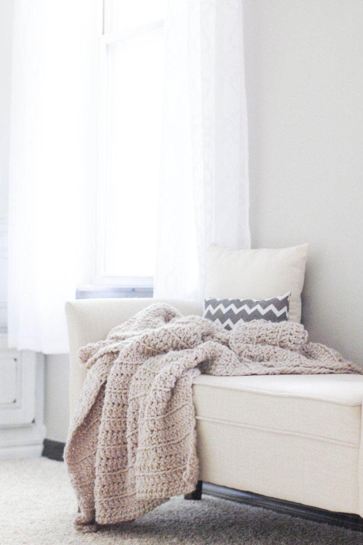 Ozette Crochet Blanket