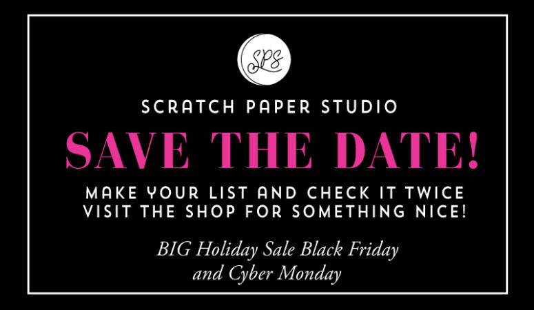 #SPSSHOP Save The Date-BIG Holiday Sale!