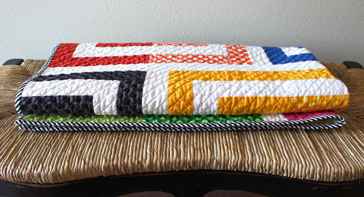 Makers Series featuring Orange Dots Quilts on Scratch Paper Studio blog