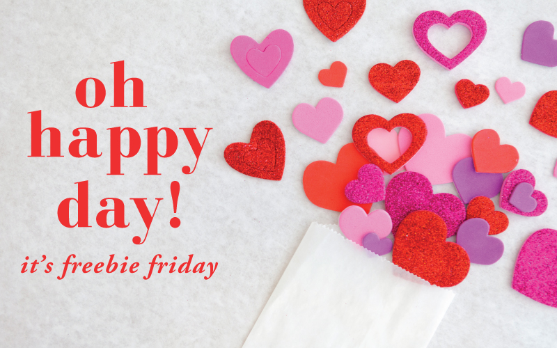 Freebie Friday Valentine's Day Tags