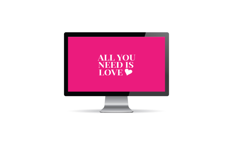 February2016-DesktopDownload-All You Need Is Love from Scratch Paper Studio