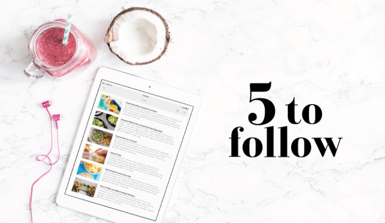 5 to Follow: Food Blogs