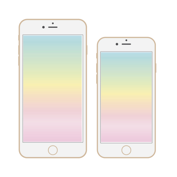 SpringOmbre-iPhoneMockup from Scratch Paper Studio