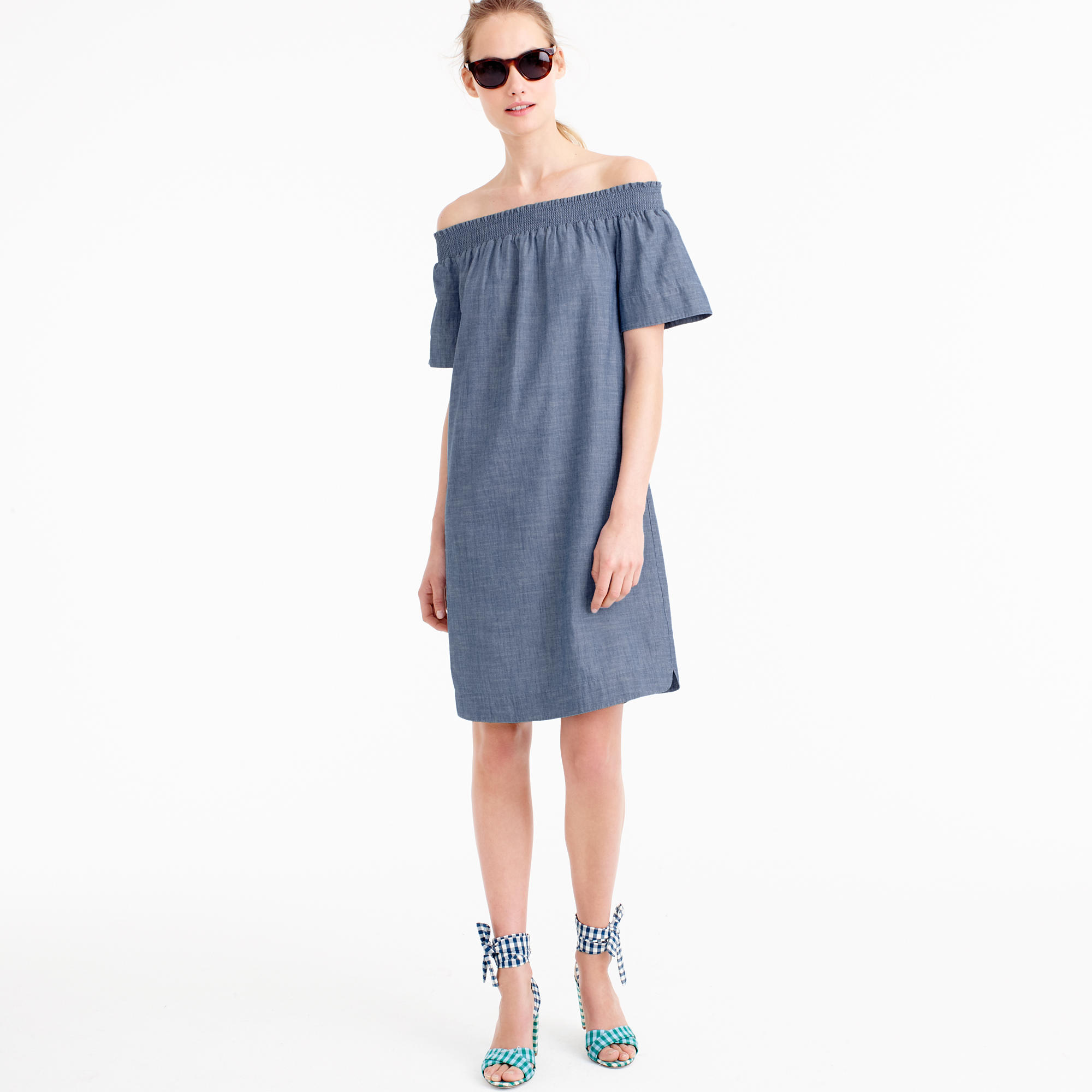 get in my closet chambray dress