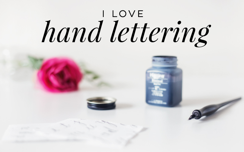 Hand lettering-featured