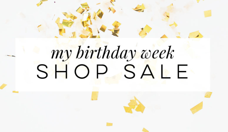 #SPSSHOP-Birthday Week Sale