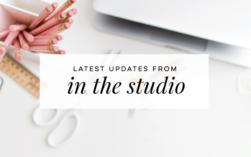 In The Studio: Holidays, Printables & More!