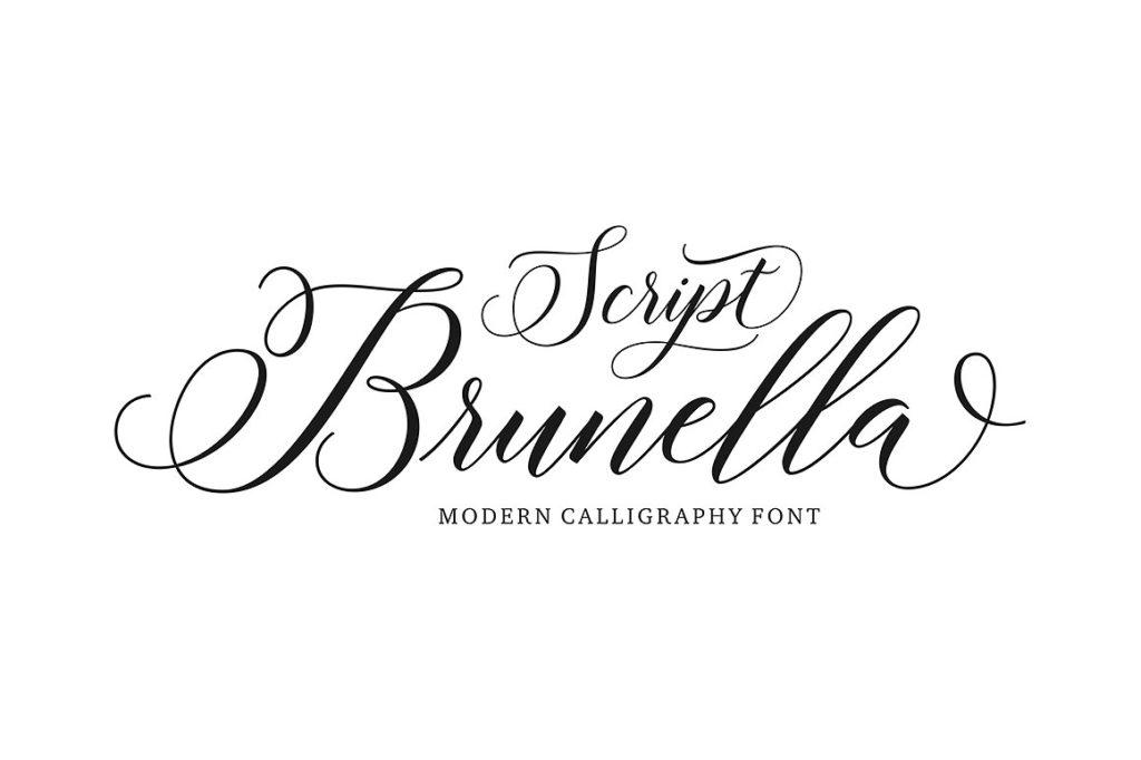 Thursday Type Brunella Script