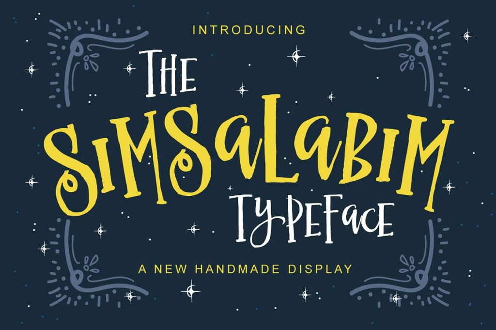 Thursday Type-Simsalabium Typeface