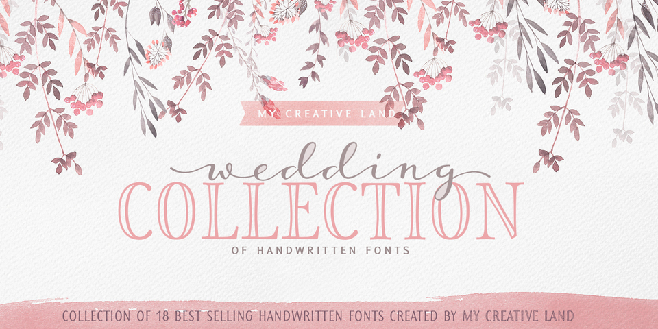 Thursday Type-Font Bundles-Wedding Bundle