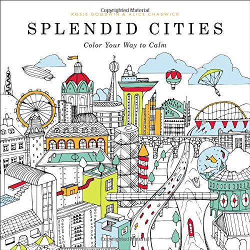 Coloring Book Day-Splendid Cities