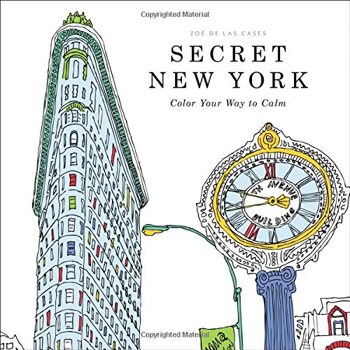 Coloring Book Day-Secret New York