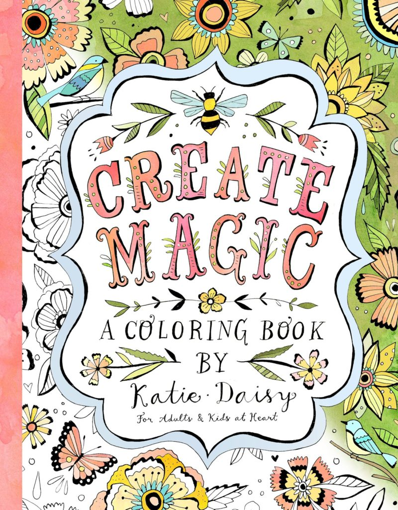 Coloring Book Day-Create Magic