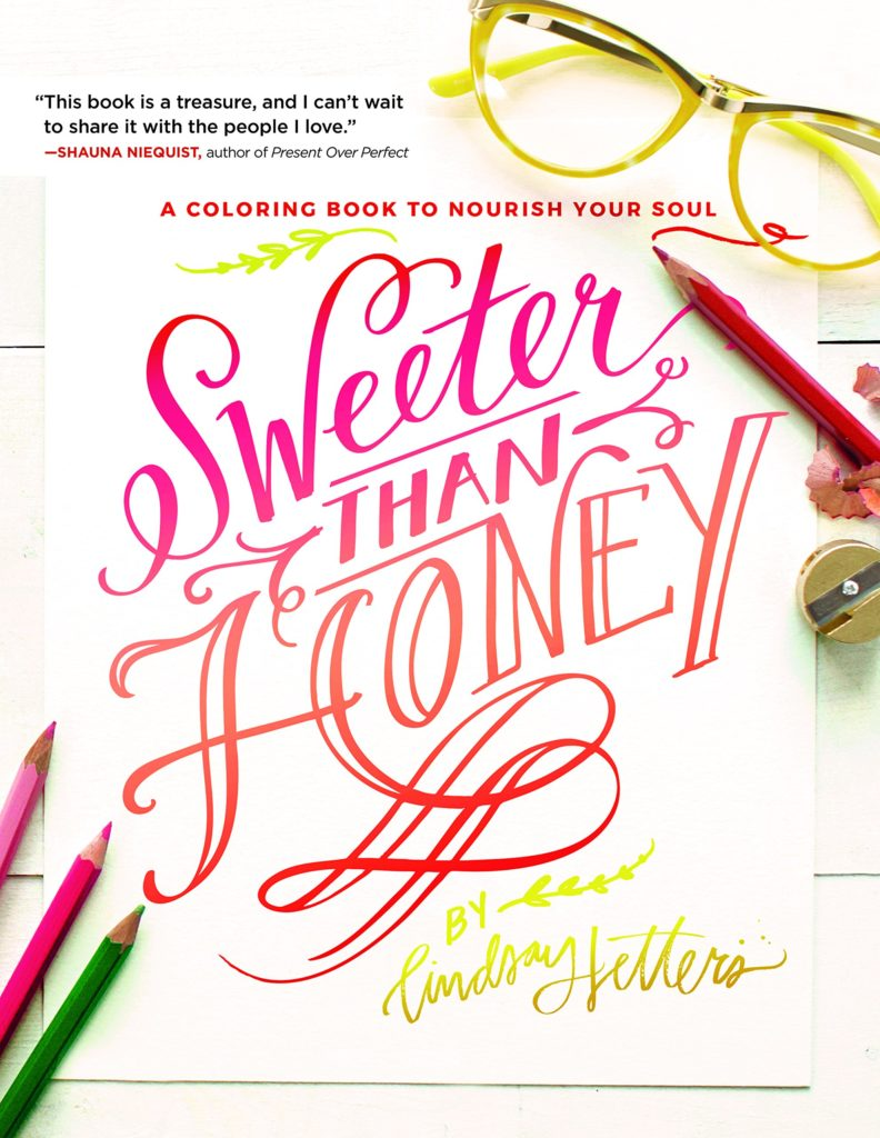 Coloring Book Day-Sweeter than Honey
