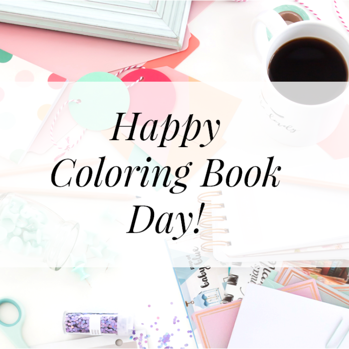 coloring book day header