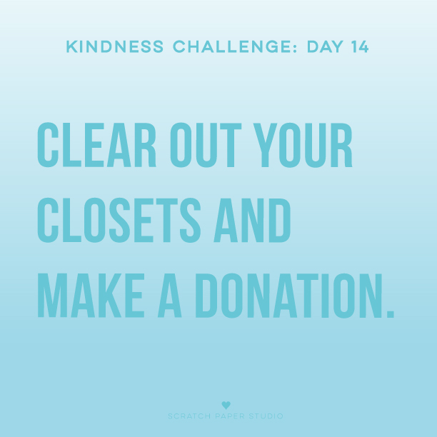 Kindness Challenge #14