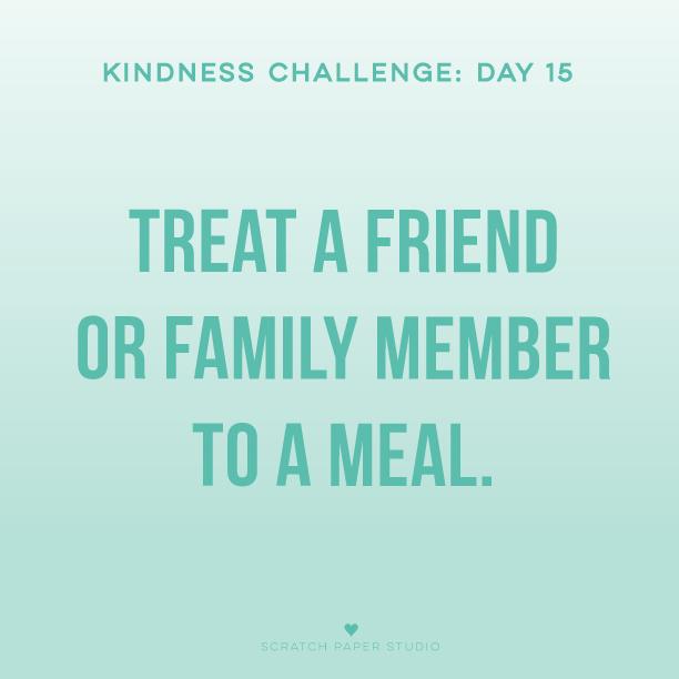 Kindness Challenge #15