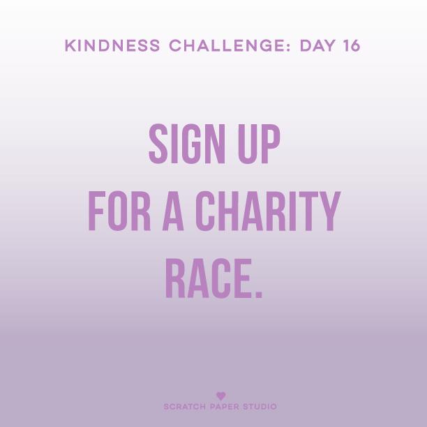 Kindness Challenge #16
