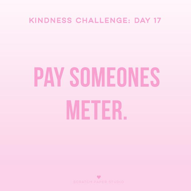 Kindness Challenge #17