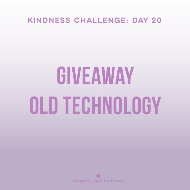 Kindness Challenge #20