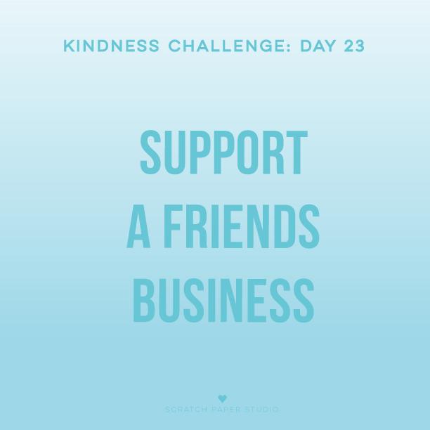 Kindness Challenge #23