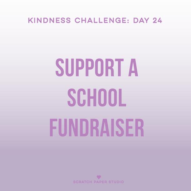 Kindness Challenge #24