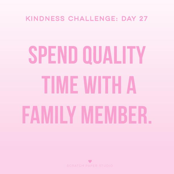 Kindness Challenge #27