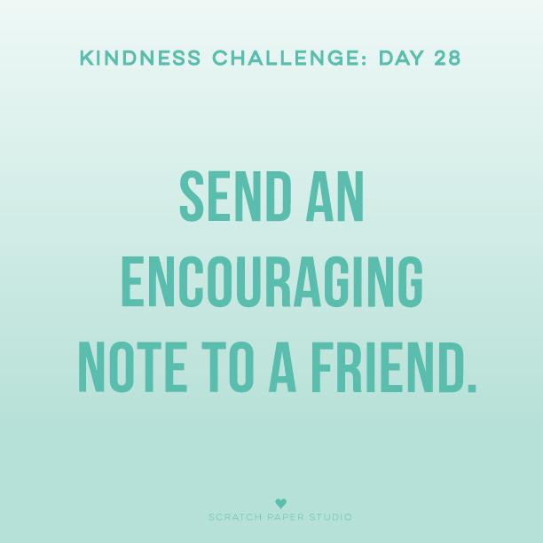 Kindness Challenge #28