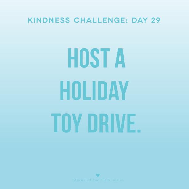 Kindness Challenge #29