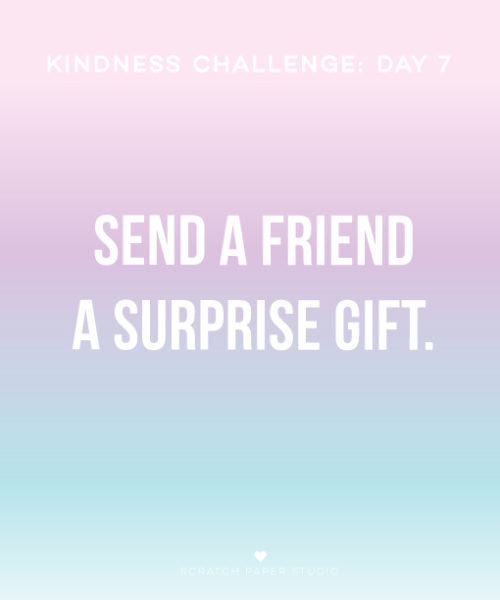Kindness Challenge Day #7