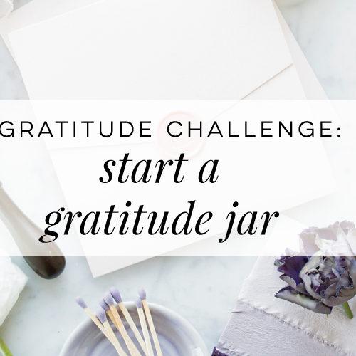Gratitude Jar