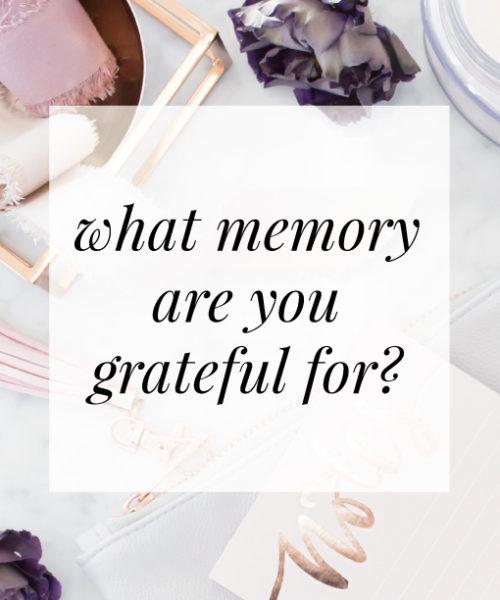 With Gratitude #3