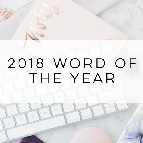 in the studio archives  2018 word of the year