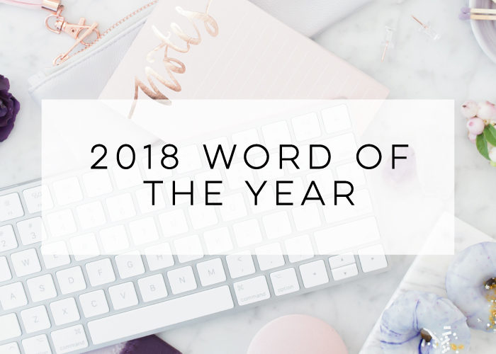 2018 Word of the Year