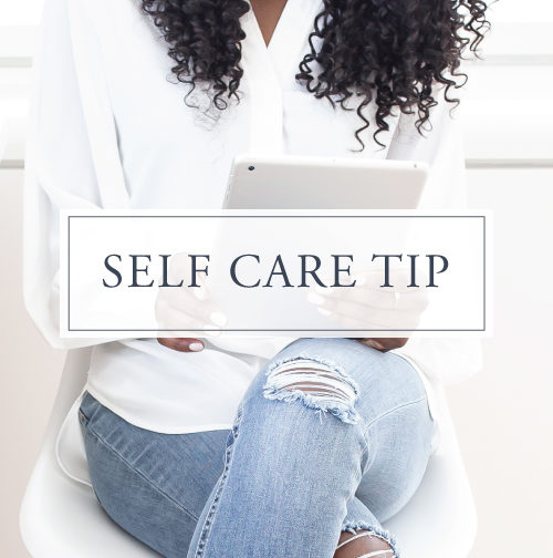 Self Care Tip#8