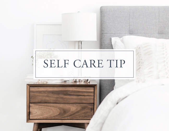 Self Care Tip