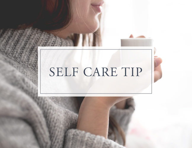 Self Care Tip #12