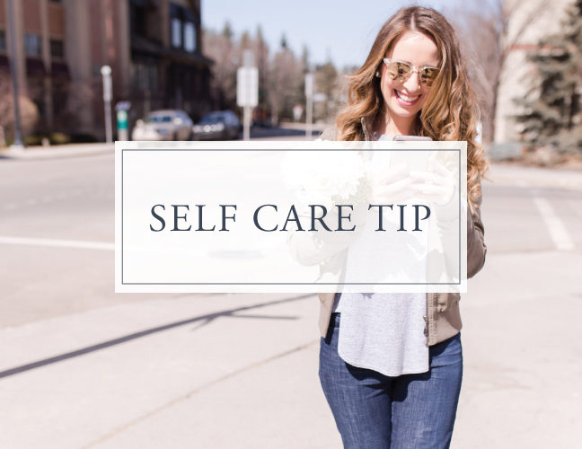 Self Care Tip #13
