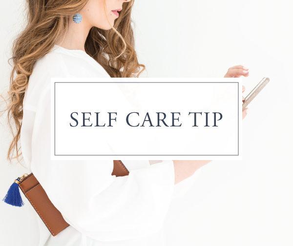 Self Care Tip #17