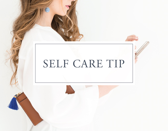 Self Care Tip #17