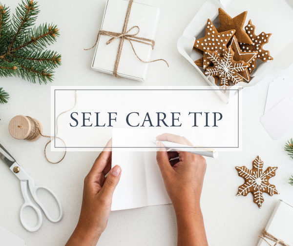 Self Care Tip #18