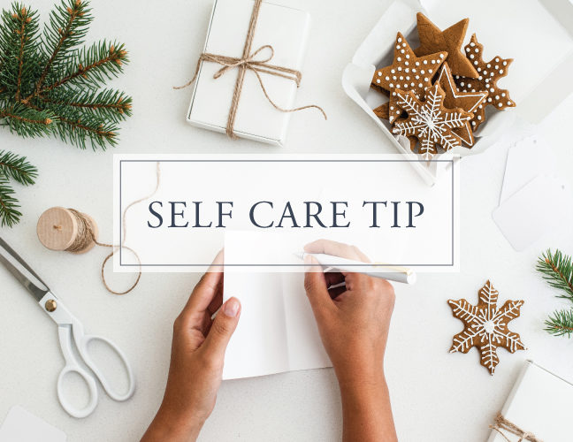 Self Care Tip#18